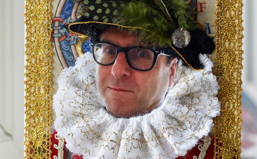 Tudor themed GreetingCards