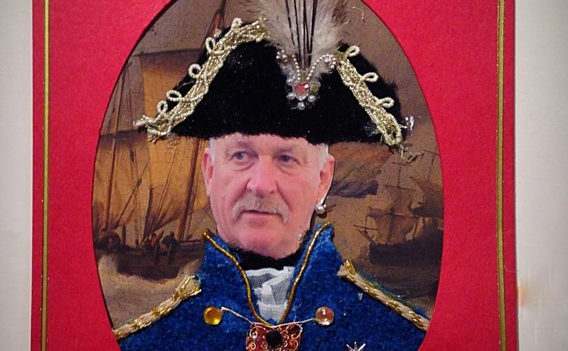 Admiral Nelson Birthdaycard