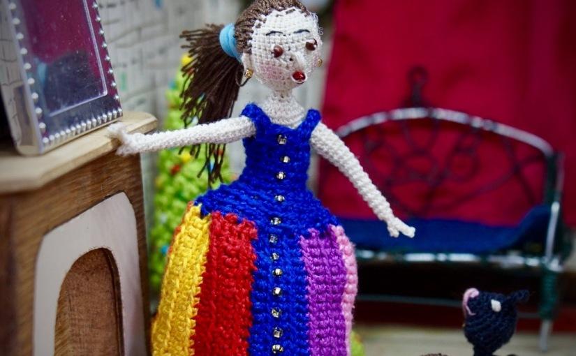 Amigurumi crocheted dollCatherine