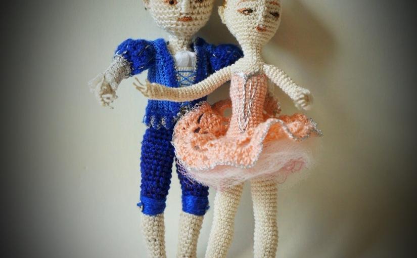 Amigurumi ballerina, partner forDaniel