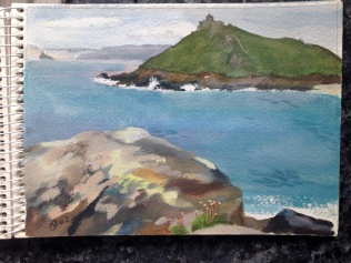 The Island from Man's Head, ST Ives.