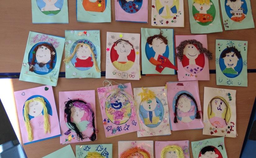 Self-portrait Workshop atschool