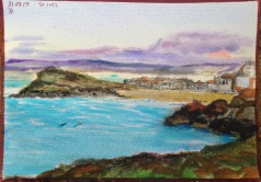 The Island from Cloggy