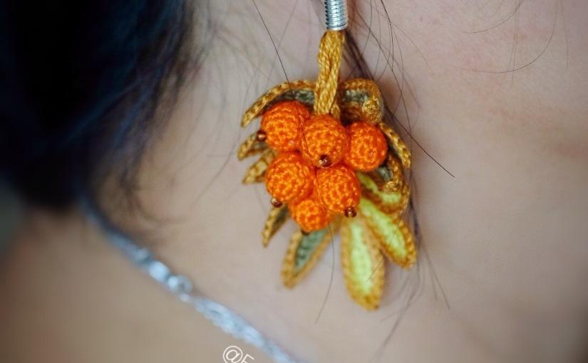 Rowan earrings – free crochetpattern
