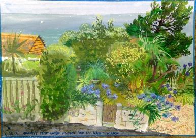 Granny's garden, St Ives.
