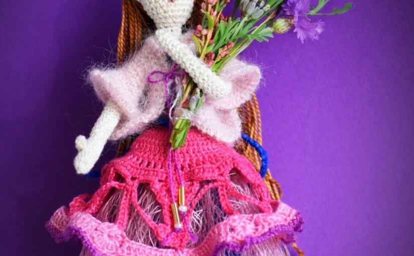 Amigurumi doll Anna, 12.5cm
